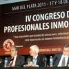 El presidente del SOM, Armando Pepe, disertó junto a destacados especialistas en el cierre del Congreso de Profesionales Inmobiliarios.