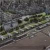 """La """"autopista"""" tendrá 12 carriles, cuatro para tránsito pesado"""